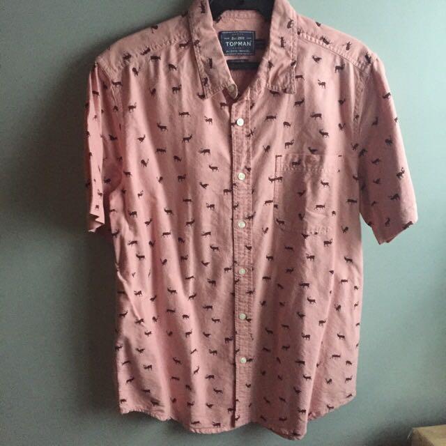 TOPMAN button down shirt (REPRICED!