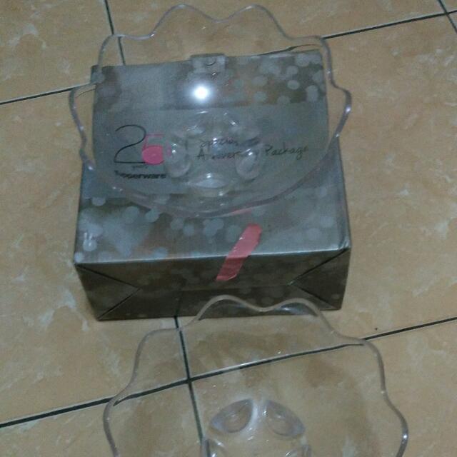 (Reprice) Tupperware Mangkuk Buah