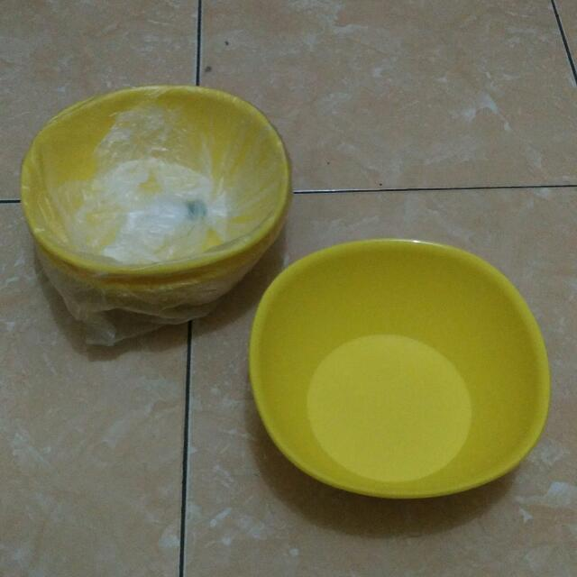(Reprice) Tupperware Mangkuk Kuning