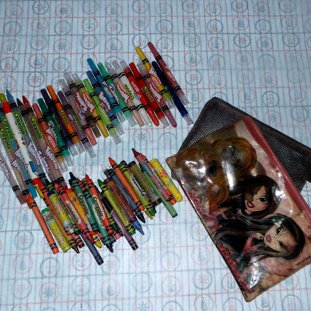 Twister Crayons