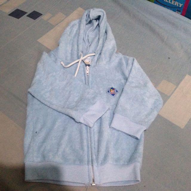 UNISEX blue Hoodie/Jacket