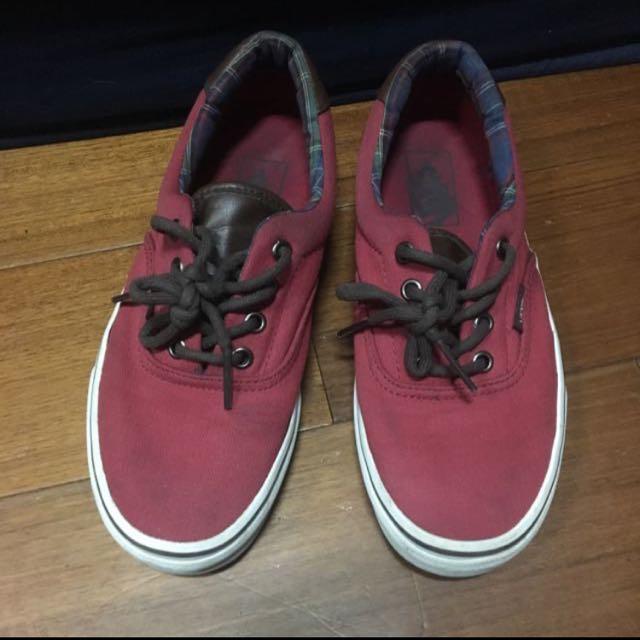 Vans 女鞋 紅