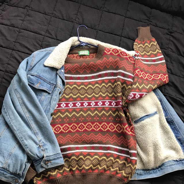 Vintage Brown Jumper