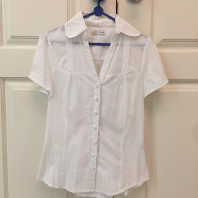 White shirt European Brand
