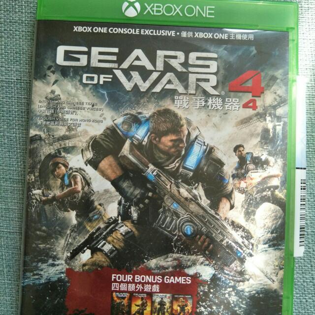 Xbox One Gear Of War 戰爭機器4 中文版