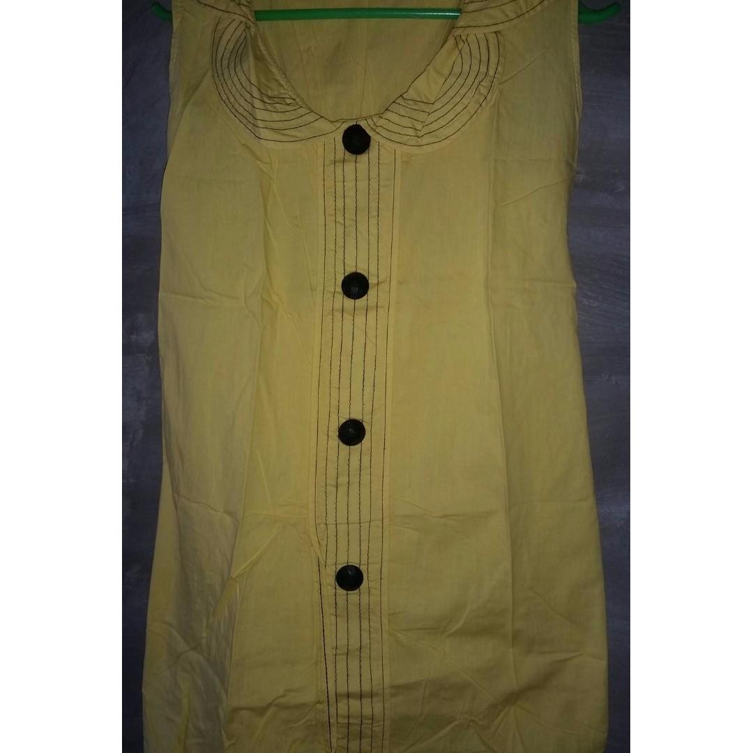 Yellow Long Blouse