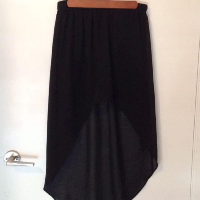 Zara High Low Skirt Size Small