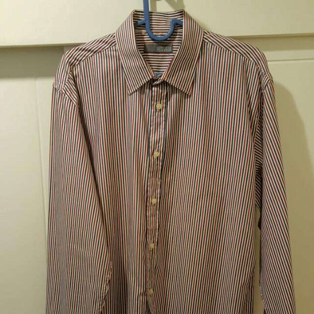 ZARA Long Sleeve Shirt Premium Super Smooth