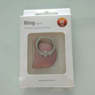 Ring Stent Cat Shape Rose gold Neko