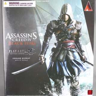 ASSASSIN´S CREED IV BLACK FLAG PLAY ARTS KAI - EDWARD KENWAY