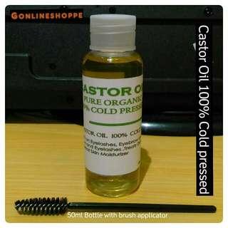 Castor Oil 100% Pure Cold Pressed
