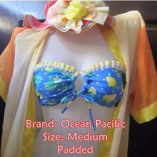 Ocean Pacific Strapless Bikini Top