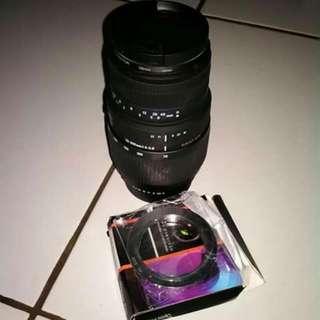 Lensa Pentax 70 - 300 Sigma AF Manual + Monting Canon..minat wa kesini 088213748759 Harga Bisa Goyang Dikit Chat Personal Aja