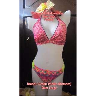 Nike Reversible Halter Bikini Set