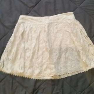 American Eagle Lace Skirt