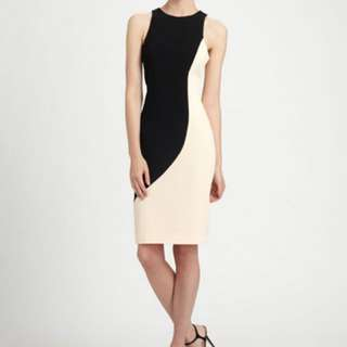 Rachel Roy Sculpted Colour Block Dress