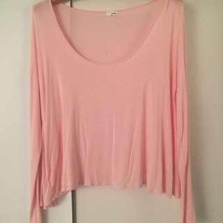 Pink Garage Long Sleeve