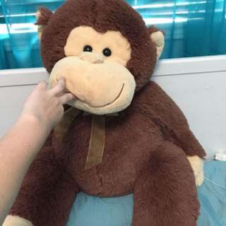 Giant Stuffed Monkey
