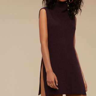 Wilfred Cable Knit Tank Sweater