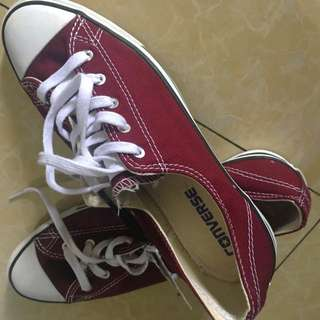 Authentic Converse Maroon