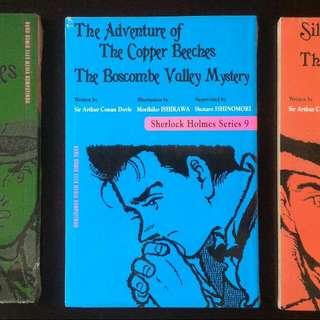 Komik Sherlock Holmes 8, 9 & 10