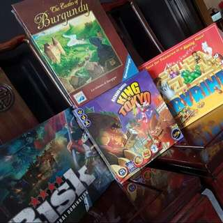 Authentic Assorted Board Games And Cards
