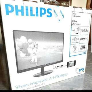 "Philips LCD Monitor 21.5"" Inch FullHD 1080p"