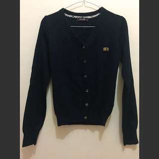 Cardigan Blueblack