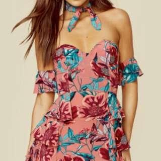For Love & Lemons Flamenco dress