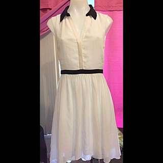 Forever New- Black & White Dress