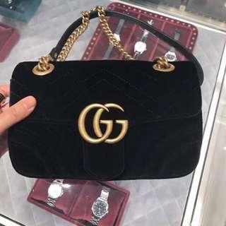 Gucci-绗缝肩背包-真品代購