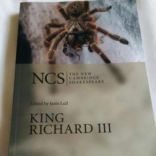 King Richard III Cambridge Shakespeare