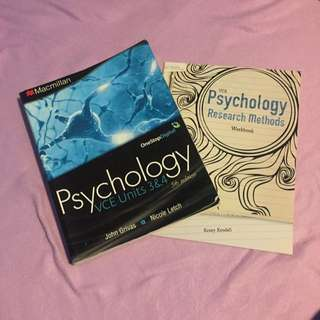 Units 3 & 4 Psychology Textbook