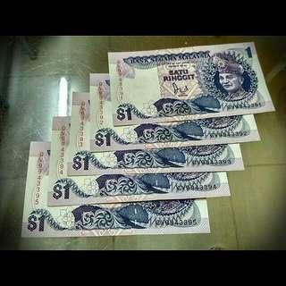 #FreePostage  5pcs RM1 (Siri Ke 6)