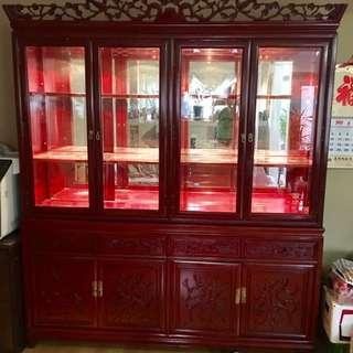 Cherry China Cabinet