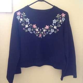 Japanese Crop Sweater
