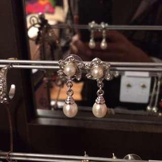 Authentic Pearl Earrings