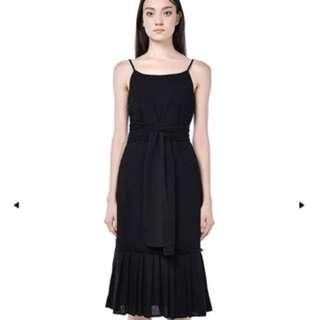 Analia Pleated Dress