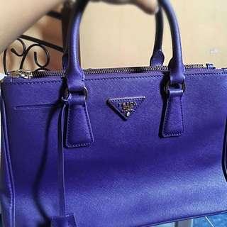 PRADA MILANO BAG (violet)