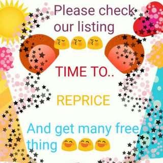 Reprice Time