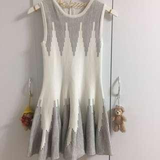 韓貨針織洋裝