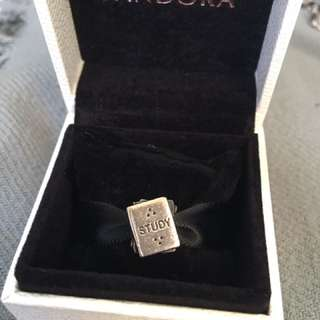 Retired Authentic Pandora Study Books Charm