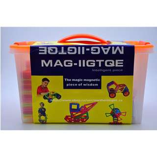 BNIB 119Pcs Magnetic Building Blocks Set/Magnetic Tiles Set