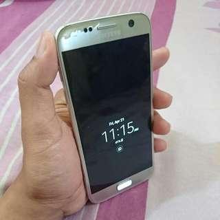 Samsung S7 Silver Titanium Fullset Murah Sist