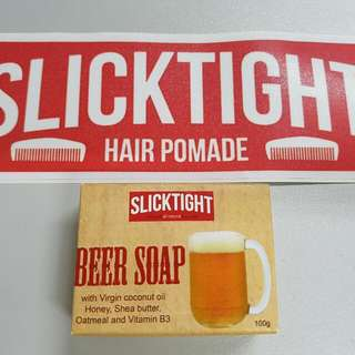Slicktight's Soaps Beer Charcoal Coffee
