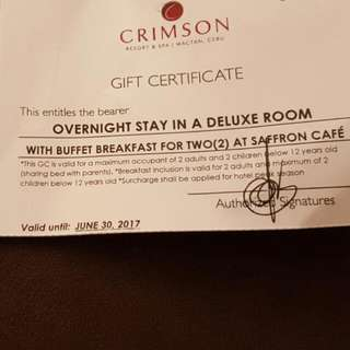 Crimson Resort Mactan