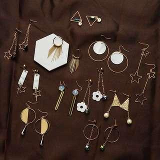 多款簡約設計耳環