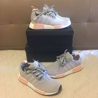 NMD R1 Offspring Exclusive Onix Grey Pink