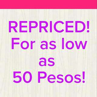 ❤REPRICED ALL ITEMS ❤