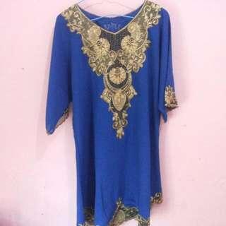 Baju Renda Blue